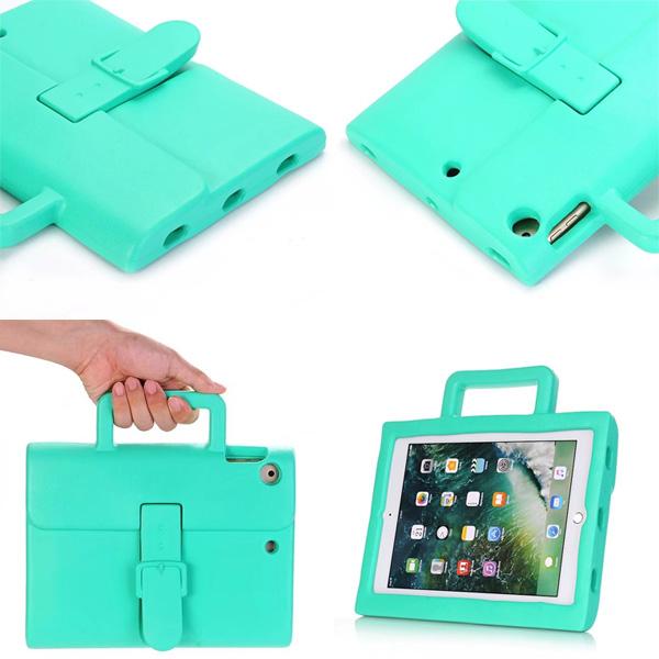 蘋果 iPad Air Air2 Pro9.7 9.72017 平板殼 兒童防摔 公文包 防摔平板殼 保護殼 矽膠軟殼 防摔