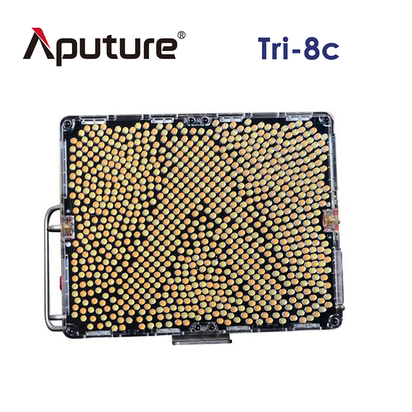黑熊館 Aputure 愛圖仕 Tri-8c V-mount 旗艦LED錄影燈 補光燈 LED燈 攝影燈 外拍燈