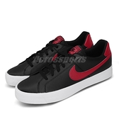 Nike 休閒鞋 Court Royale AC 黑 紅 男鞋 基本款 運動鞋【ACS】 BQ4222-004