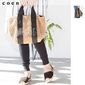 托特包 紙纖維 M 現貨 免運費 日本品牌【coen】