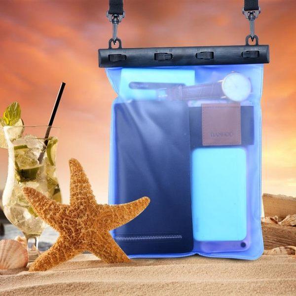 黑五好物節  大容量手機防水袋潛水套防水包收納袋沙灘通用游泳漂流裝備證件套【居享優品】
