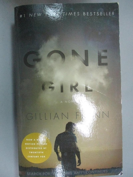 【書寶二手書T2/原文小說_NOQ】Gone Girl_Gillian Flynn