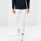 新品特惠# 春秋新款韓版男士修身小腳牛仔褲純白色彈力顯瘦鉛筆緊身褲潮