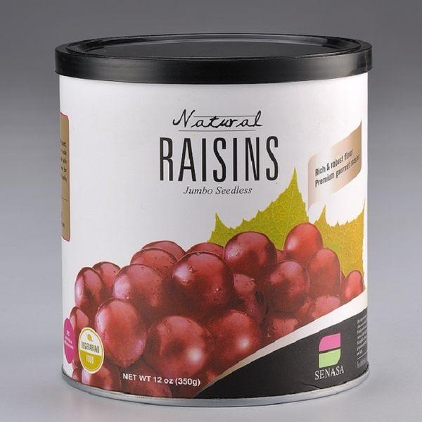 清淨生活 農場智慧天然超大無籽葡萄乾(買1罐送1罐)