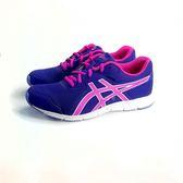 ASICS 亞瑟士 透氣吸震慢跑鞋 運動鞋 《7+1童鞋》5127 紫色