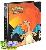 [美國直購] 神奇寶貝 精靈寶可夢周邊 Ultra Pro Pokemon: Charizard Album, 2 收藏夾不含卡片收納套