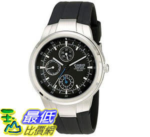 [美國直購] 手錶 Casio Men s EF305-1AV Edifice Multifunction Watch With Black Resin Band