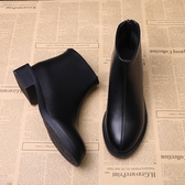 短靴馬丁靴女英倫風新款短靴女秋冬季雪地鞋女粗跟韓版小跟鞋百搭 伊蘿鞋包