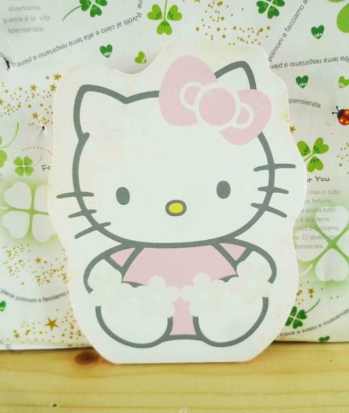 【震撼精品百貨】Hello Kitty 凱蒂貓-KITTY吸油面紙-坐姿圖案-粉紅色