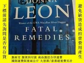 二手書博民逛書店英文原版《fatal罕見remedies 》donna leon