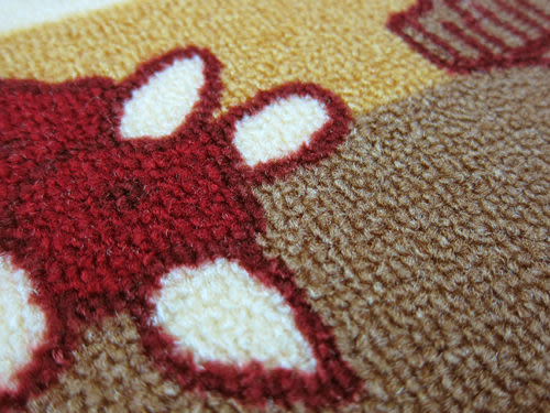 范登伯格-埃及進口防滑優質踏墊/地毯-小巧44x70cm