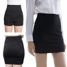 窄裙簡設中長款西裝職業裙包臀裙安全褲黑半身裙OL高彈力一步裙女 嬡孕哺