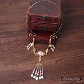 瓔珞項圈 中式古裝古典日常清新漢服吊墜項鍊cos表演配飾 - 雙十一熱銷