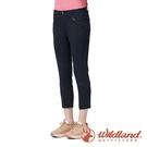 『VENUM旗艦店』【wildland 荒野】女 彈性時尚抗UV八分褲『深藍』0A91371