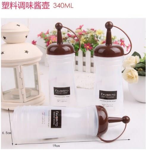 [協貿國際]  大號日式防撒漏食用塑料調味瓶油壺 (3個價)