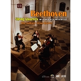 【停看聽音響唱片】【DVD】貝多芬:第四、七、十四號弦樂四重奏茱莉亞四重奏