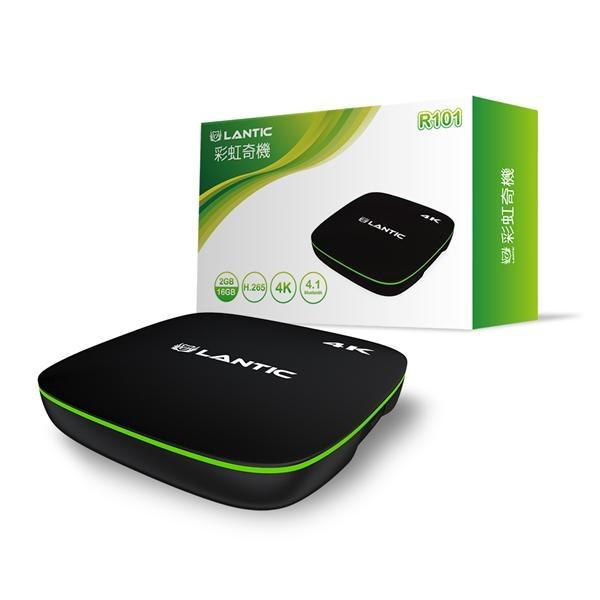 喬帝 R101 (2G+16GB) 彩虹奇機 4K 智慧電視盒