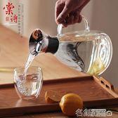 現貨清出 涼水壺玻璃耐高溫家用大容量耐熱加厚防爆宜家歐式冷水壺套裝  DF 12-03