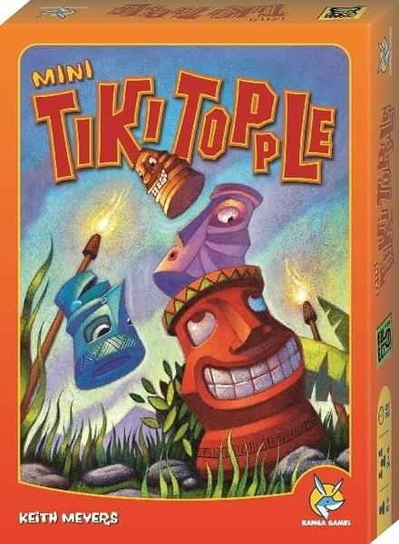 【樂桌遊】推倒提基 Tiki Topple (迷你版)