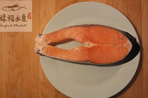 【禧福水產】智利鮭魚切片/特A級輪切/14p◇$特價180元/430g±10%/包◇ 日本料理熱炒團購可批發
