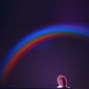 彩虹投影儀  安睡燈 星空投影323g