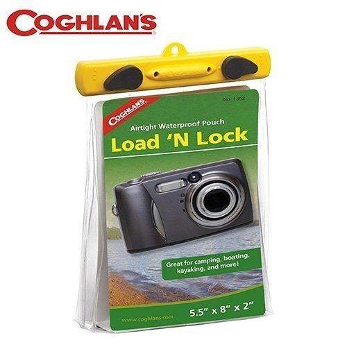 丹大戶外【Coghlans】加拿大 LOAD'N LOCK 5.5'' X 8'' X 2'' 相機防水袋 1352