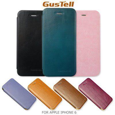☆愛思摩比☆GUSTELL 谷斯特 APPLE IPHONE 6 4.7寸 金屬邊框油蠟皮可立皮套 支架皮套 保護套