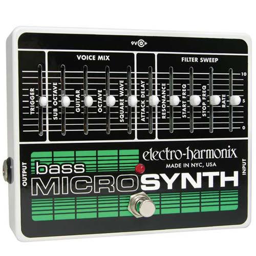 【敦煌樂器】Electro Harmonix Bass Micro Synthesizer 貝司合成器復刻版