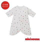 MIKI HOUSE BABY 日本製 LOGOx星星新生兒蝴蝶衣