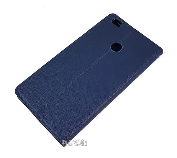 【Xmart】十字紋側掀皮套 小米 Max 6.44吋