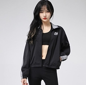 NIKE系列-NSW HERITAGE JKT WVN 女款黑色風衣運動外套-NO.CZ8607010