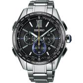 限量錶 SEIKO 精工 BRIGHTZ 135週年限量鈦計時太陽能電波錶 8B92-0AS0D(SAGA225J)