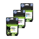 HP NO.933XL 933XL 黃色 原廠墨水匣 6100/6600/6700/7110/7610/7612