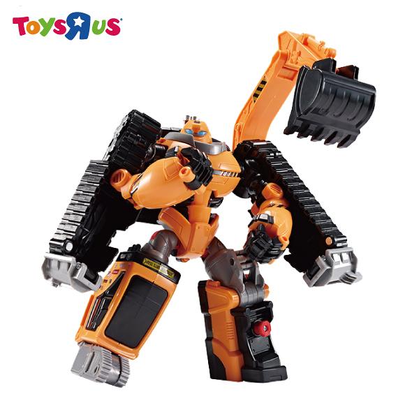 玩具反斗城 TOBOT 機器戰士 ROCKY ENG
