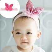 立體兔耳蕾絲網紗髮帶  兒童髮飾 髮帶 造型髮帶