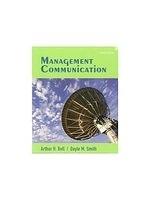 二手書博民逛書店《Management Communication》 R2Y I