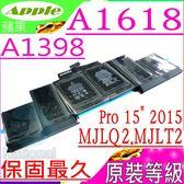 APPLE 電池(原裝等級)-蘋果 A1618,020-00079,MJLQ2CH/A,MJLT2CH/A,MJLU2CH/A,A1398 (2015年中), EMC 2910
