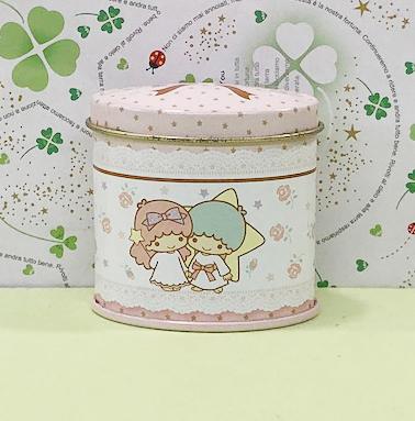 【震撼精品百貨】Little Twin Stars KiKi&LaLa 雙子星小天使~Sanrio圓盒#82693