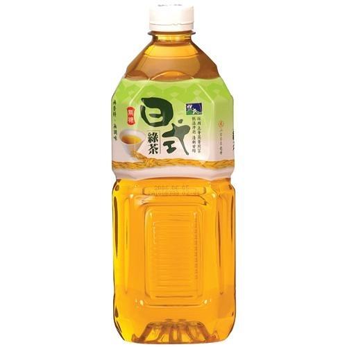 悅氏日式綠茶2L  【愛買】