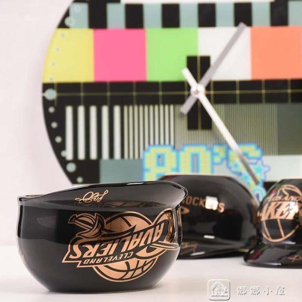 創意馬克杯個性水杯NBA球星杯子時尚陶瓷杯子創意NBA擺件科比庫里 全館單件9折