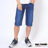 Big Train 日本和紙丹寧短褲--深藍-B50162