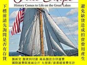 二手書博民逛書店Tall罕見Ships: History Comes to Life on the Great Lakes-高大的