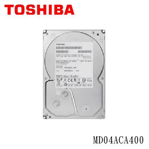 Toshiba 4TB (MD04ACA400) /128MB/7200轉/三年保固