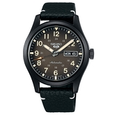 【台南 時代鐘錶 SEIKO】精工 5 Sports 經典 SRPG41K1 數字 皮革錶帶 機械男錶 4R36-10A0C 棕/黑 39.4mm