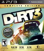 PS3 Dirt 3: Complete Edition 越野精英賽:大地長征 3 完全版(美版代購)
