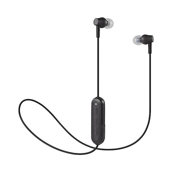 全新 鐵三角ATH-CK150BT藍牙線控耳機 防水運動耳機 黑色 台灣鐵三角公司貨