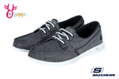 Skechers GO WALK LITE 成人女款 馬克縫帆船 套入式健走鞋 休閒運動鞋 R8252#灰色◆OSOME奧森鞋業