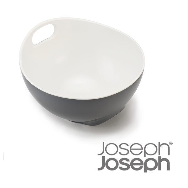 《Joseph Joseph英國創意餐廚》好上手可斜立攪拌盆(灰)