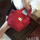 媽咪包小號寶寶外出手提袋子多功能嬰兒奶粉包手拎飯盒小布包韓版      良品鋪子