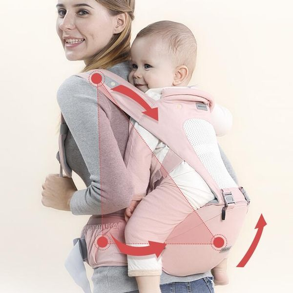 嬰兒背帶嬰兒背帶腰凳四季通用多功能前橫抱式小孩兒童抱帶寶寶抱娃單坐凳